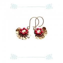 Boucles Hibiscus - Grenadine