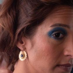 Boucles Indira - Lapis Lazuli