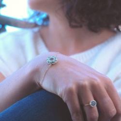 Bracelet Galant - Bleu écume