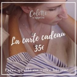 Carte Cadeau - Valeur 35€