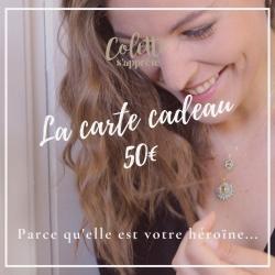 Carte Cadeau - Valeur 50€